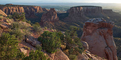 Rock Photograph - Colorado National Monument by Aaron Spong
