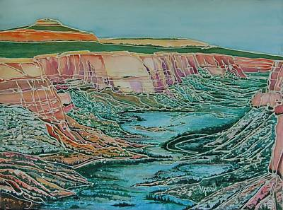 Colorado National Monument Art Print by Mary Ann Parah