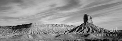Photograph - Colorado Panorama I Bw by Dave Gordon