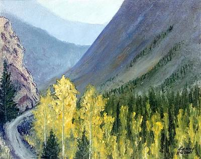 Art Print featuring the mixed media Colorado Pass by Kenny Henson
