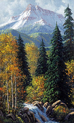San Juan Painting - Colorado by Randy Follis