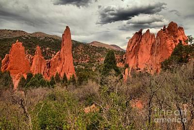 Photograph - Colorado Red Rock Landcape by Adam Jewell