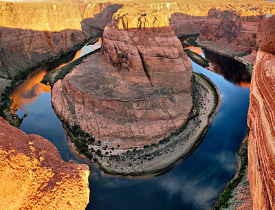 Photograph - Colorado River And Horseshoe Bend by Gregory Ballos