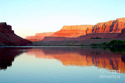 Colorado River At Dawn Art Print by Douglas Taylor