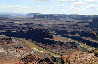 Photograph - Colorado River At Dead Horse State Park by Christiane Schulze Art And Photography