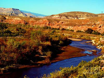 Photograph - Colorado River by Eva Kato