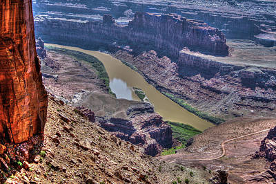 Photograph - Colorado River From Dead Horse Point by SC Heffner
