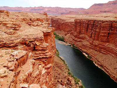 Photograph - Colorado River From Navajo Bridge by Dan Sproul
