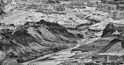 Photograph - Colorado River Grand Canyon Panorama by Bob and Nadine Johnston