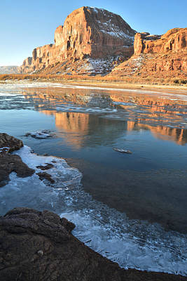 Photograph - Colorado River Reflection 2 by Ray Mathis