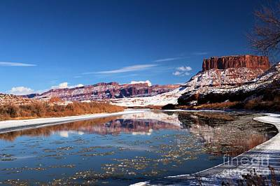 Photograph - Colorado River Reflections by Adam Jewell