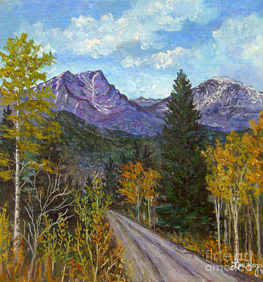 Painting - Colorado Road by Lou Ann Bagnall