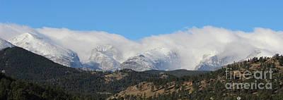 Colorado State University Photograph - Colorado Rockies 1 by Douglas Lintner