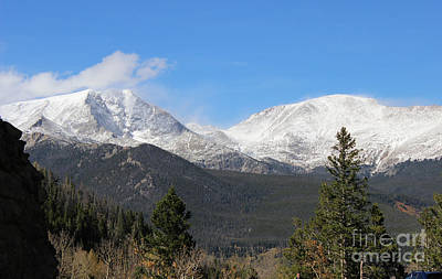 Colorado State University Photograph - Colorado Rockies 2 by Douglas Lintner