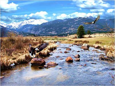 Tom Schmidt Painting - Colorado Rockies by Tom Schmidt