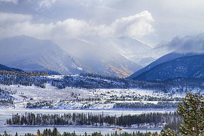 Winter Landscapes Photograph - Colorado Rocky Mountain Autumn Storm by James BO  Insogna