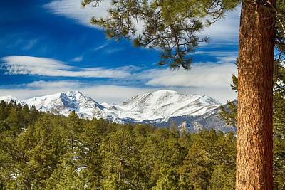 Photograph - Colorado Rocky Mountain View by James BO Insogna