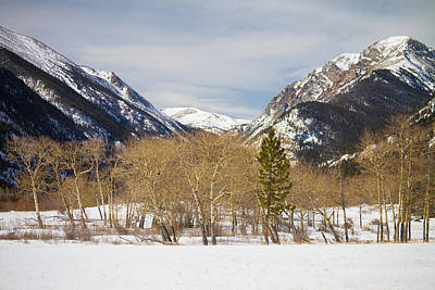 James Insogna Photograph - Colorado Rocky Mountain Winter Horseshoe Park by James BO  Insogna