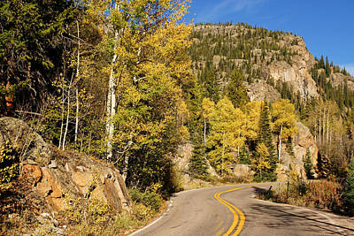 Photograph - Colorado Route 82 In Fall by Daniel Woodrum