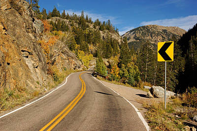 Photograph - Colorado Route 82 In Fall No.2 by Daniel Woodrum