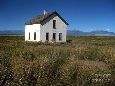 Photograph - Colorado School House by Robert D McBain