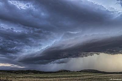 Colorado Shelf Cloud Art Print by Lena Sandoval-Stockley