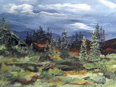 Painting - Colorado Skies by Mary Arneson