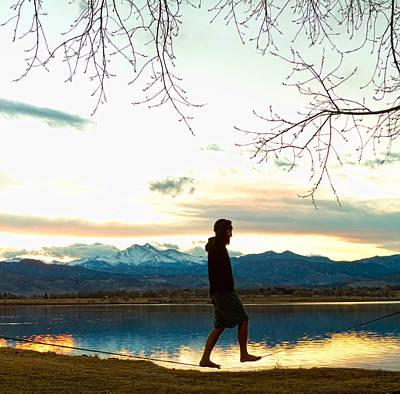 Photograph - Colorado Slackasana by James BO Insogna
