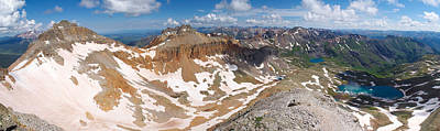 Photograph - Colorado Summit Panorama - Fuller Peak  by Aaron Spong