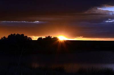 Photograph - Colorado Sunrise by Clarice  Lakota