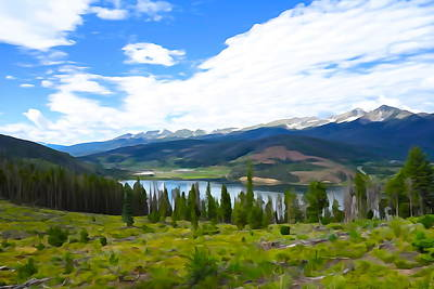 Photograph - Colorado Vista by Charlie and Norma Brock