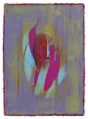 Painting - Colorblots 1b by Hermann Lederle