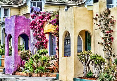 Photograph - Colored Cottages By Diana Sainz by Diana Raquel Sainz