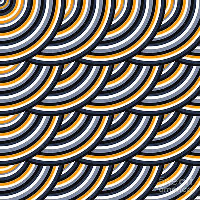 Colored Geometric Background Wallpaper Art Print