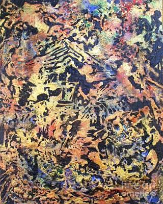 Colored Gold Art Print