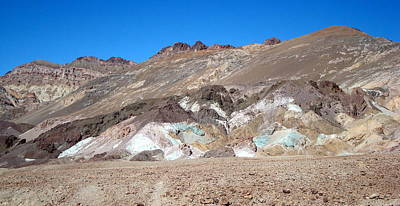 Photograph - Colored Hills by Susan Woodward