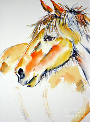Painting - Colored Horse by Mona Mansour Jandali