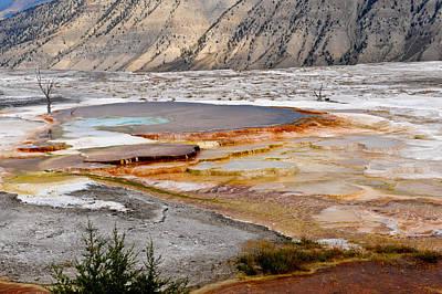 Colored Lake Original by Randy Giesbrecht