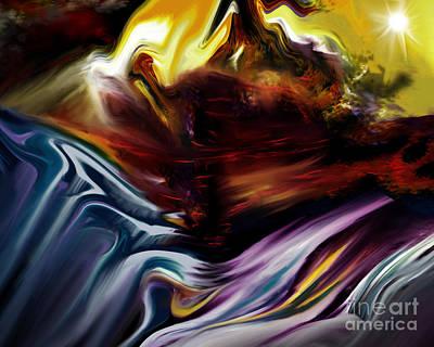 Novak Painting - Colored Landscape  by Kathryn L Novak