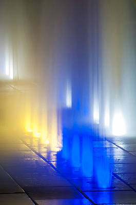 Photograph - Colored Lights by Andy Crawford