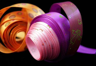 Photograph - Colored Ribbons by Blanchi Costela