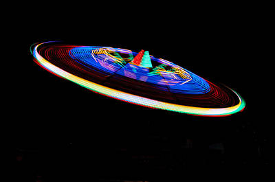 Janet Smith Photograph - Colored Saucer by Janet Smith