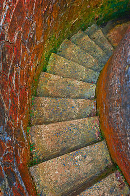 Colored Stairs Print by Chelsea Stockton