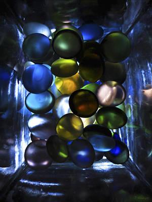 Photograph - Colored Stones Of Light by Joseph Hedaya