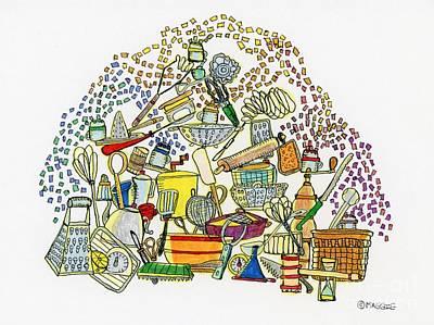 Colored Sugar Shakers  Original