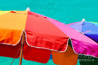 Photograph - Colored Umbrellas - Photograph By Travel Photographer David Perry Lawrence by David Perry Lawrence