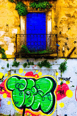 Photograph - Colored Wall by Edgar Laureano