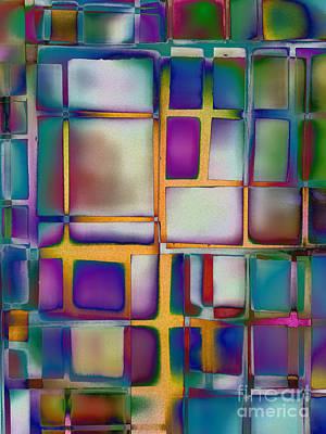 Repaint Digital Art - Colored Window by Klara Acel