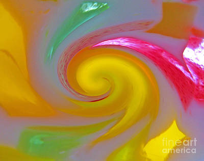 Photograph - Colorful Abstract 02 by Ausra Huntington nee Paulauskaite