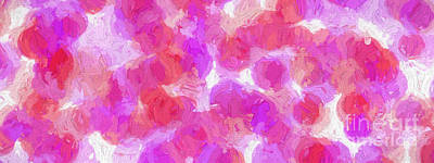 Digital Art - Colorful Abstract 119 Panorama by Andee Design